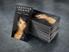 Jasmine Adams Business Card