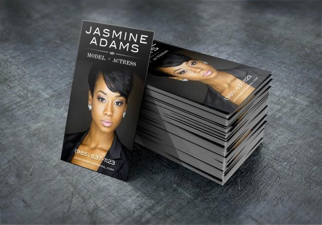 Jasmine Adams Business Card