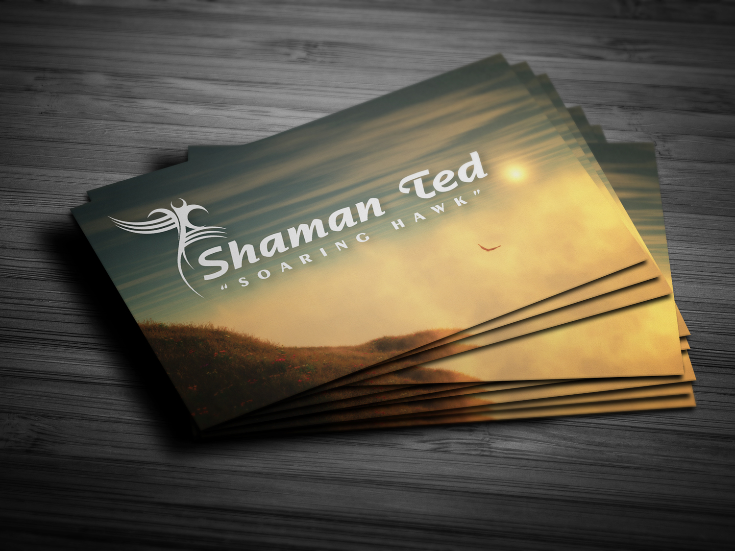 Shaman Ted Business Card | Website Developement, Graphic Design ...